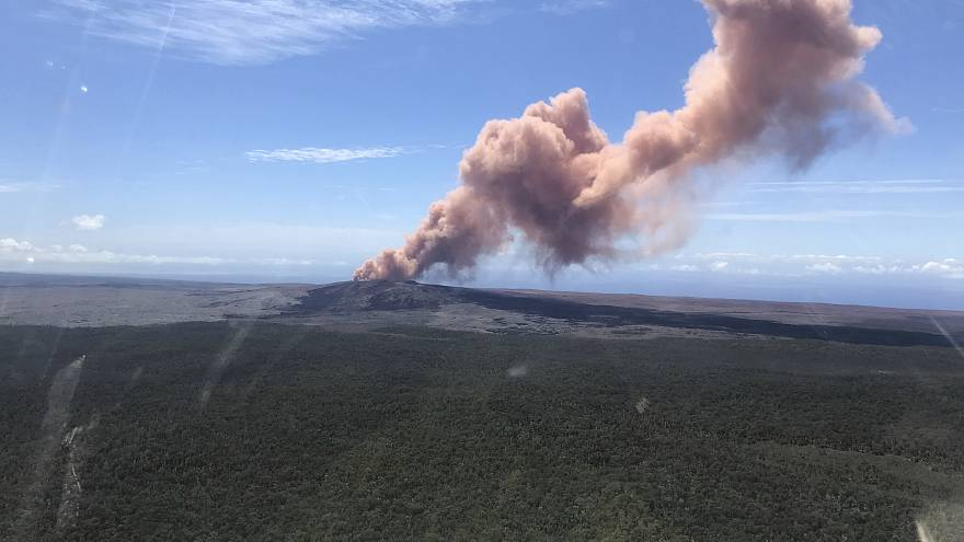Image: Kilauea eruption