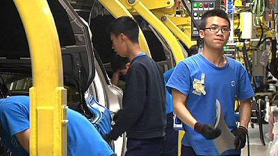 Indústria chinesa produziu menos em setembro