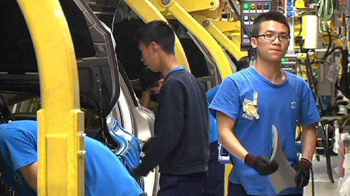 Деловая активность в Китае снова снизилась