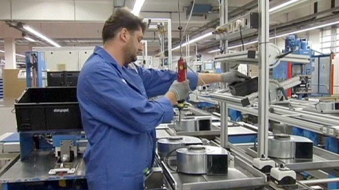 La industria de la eurozona se estancó en septiembre, por menos encargos y producción