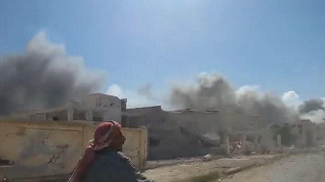 Aviones rusos vuelven a golpear a los enemigos de Bachar al Asad en Siria