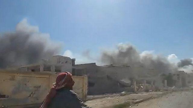 Újra orosz gépek bombáztak Szíriában