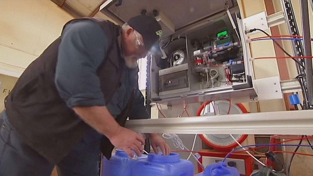 A eletrólise da água como alternativa aos fungicidas