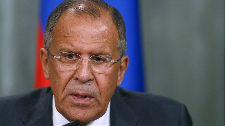 Watch live: Russian foreign minister Lavrov speaks
