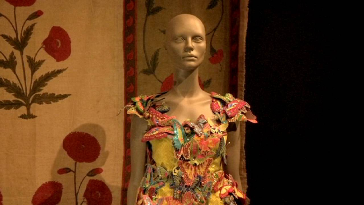 Exposition : tissus indiens au Victoria and Albert Museum