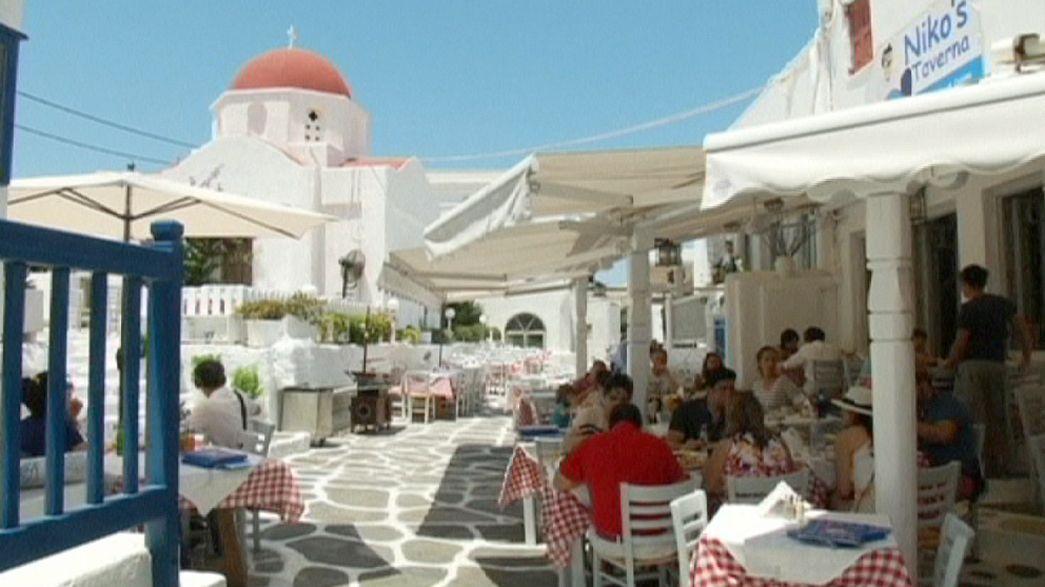 Drágul az élet a görög szigeteken