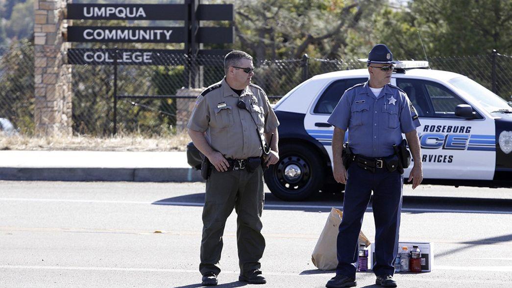 Al menos nueve muertos y siete heridos en un tiroteo en un campus universitario de EEUU