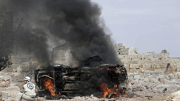 Segundo día de bombardeos rusos en Siria: Hama e Idlib, principales escenarios de los ataques