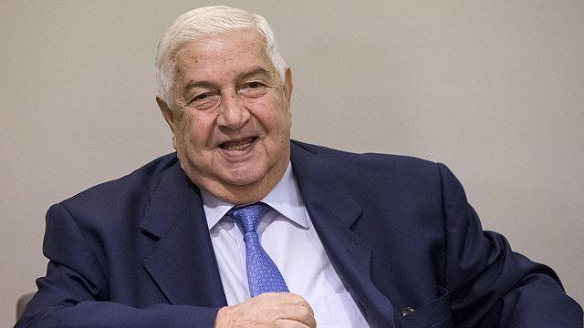 Министр иностранных дел Сирии в ООН