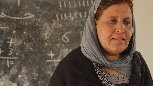 Mülteci kızların eğitimine adanmış bir ömür