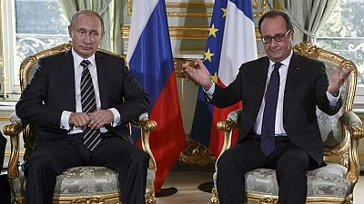Paris hosts Ukraine summit as Syria simmers in the background