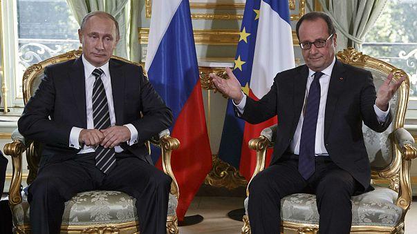 Ukrajnáról egyeztet Putyin, Porosenko, Merkel és Hollande