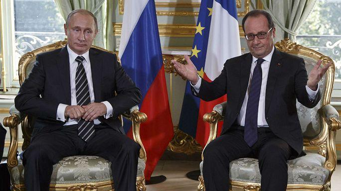Ukrayna krizi için Paris'te dörtlü zirve