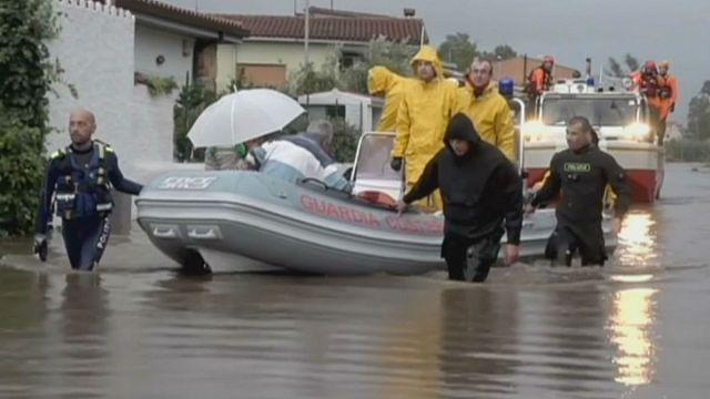 Fırtına Korsika ve Sardinya'dan anakaraya ulaşımı durdurdu