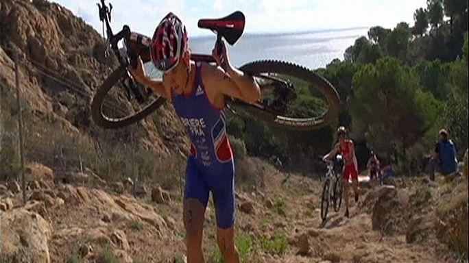 Rubén Ruzafa revalida el título de campeón mundial de triatlón cross
