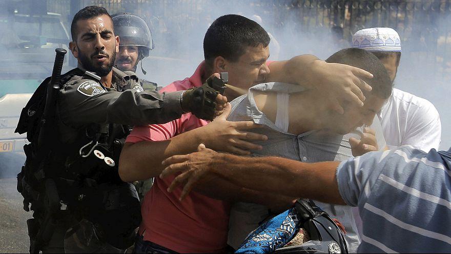 تصاعد التوتر في عدة مدن فلسطينية بين القوات الإسرائيلية وفلسطينيين