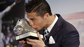 Ronaldo equals Real Madrid's scoring record