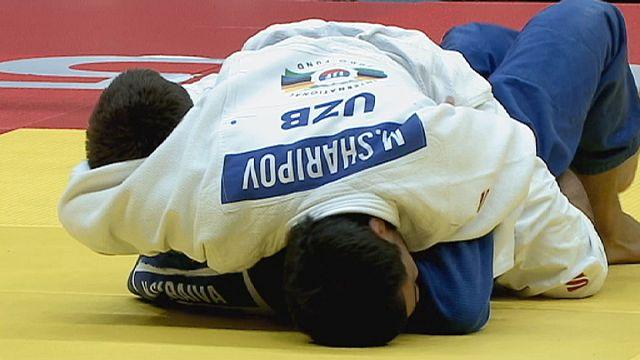 الجائزة الكبرى للجيدوفي طشقند: الاوزباكستاني شاريبوف يمتع الجمهور و يحرز ثاني لقب له