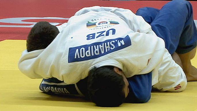 Judo: Özbekistan ilk altın madalyasını aldı