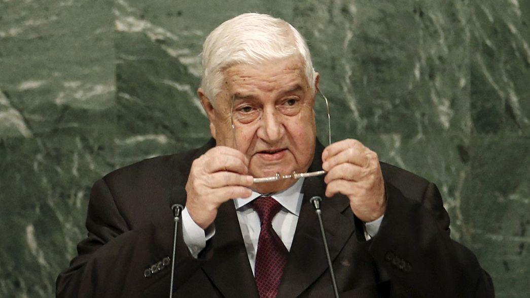 """Siria: """"Sì a colloqui di pace"""""""