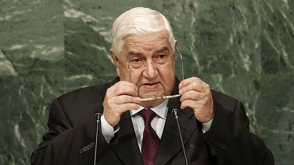 Глава МИД Сирии заявил в ООН о невозможности справиться с терроризмом только авиационными ударами