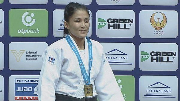 Judo Grand Prix in Taschkent - Silber für Mari Ertl