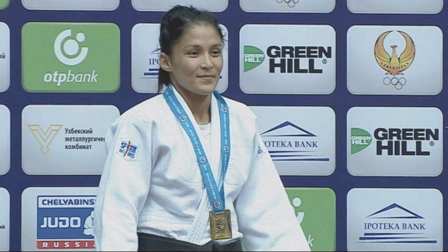 Primera jornada del Gran Premio de judo en Taskent