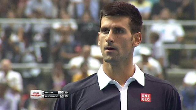 Djokovic et Nadal en exhibition en Thaïlande
