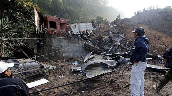 Glissement de terrain meurtrier au Guatemala