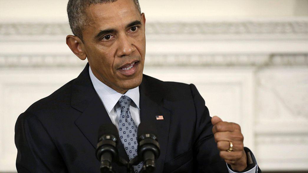 """أوباما: """"الصراع في سوريا هو بين الشعب والرئيس الأسد"""""""