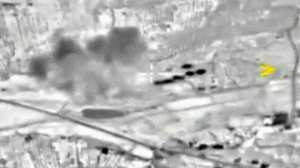 Russische Luftwaffe will sechs Angriffe auf Stellungen der IS-Milizen lanciert haben