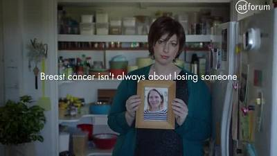 Breast cancer isn't always about losing someone (McGrath Foundation)