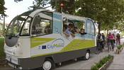 Tiny, automated bus experiment begins in Greece