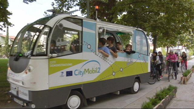 CityMobil2: автобус довезёт без водителя