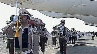 Llegan a Teherán los primeros cadáveres iraníes del hach