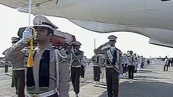 Hazaszállították az iráni zarándokok holttesteit