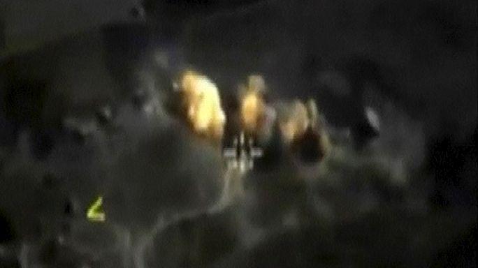 Rusya, Suriye'de yine vurdu