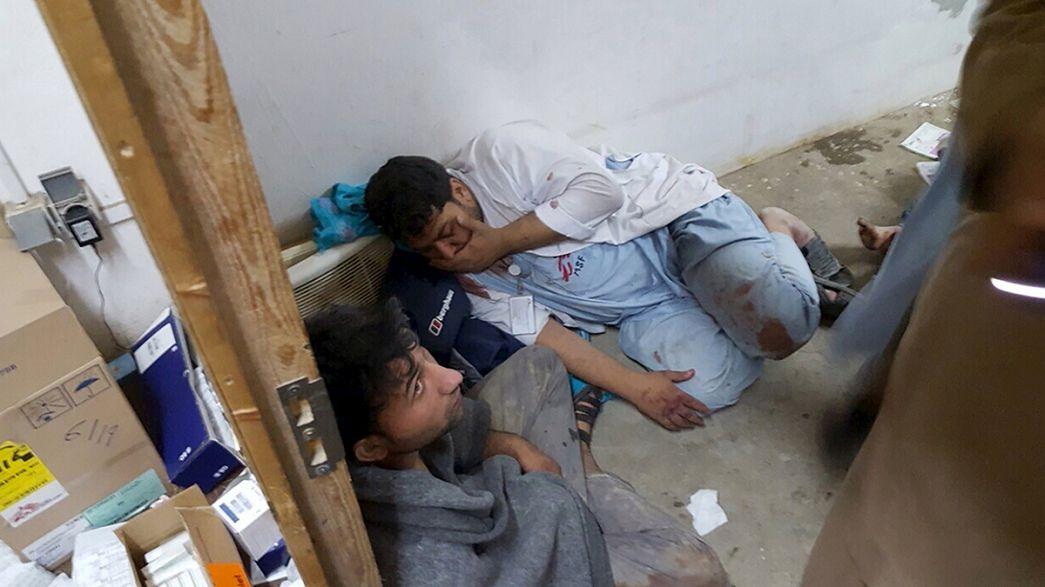 Al menos nueve miembros de Médicos Sin Fronteras mueren en un bombardeo contra el hospital de Kunduz