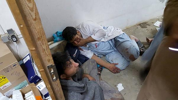 Kunduz'da hastaneye hava saldırısı