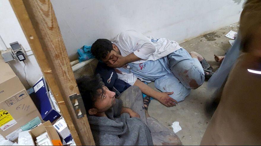 Orvosok is meghaltak az afganisztáni kórházat ért támadásban