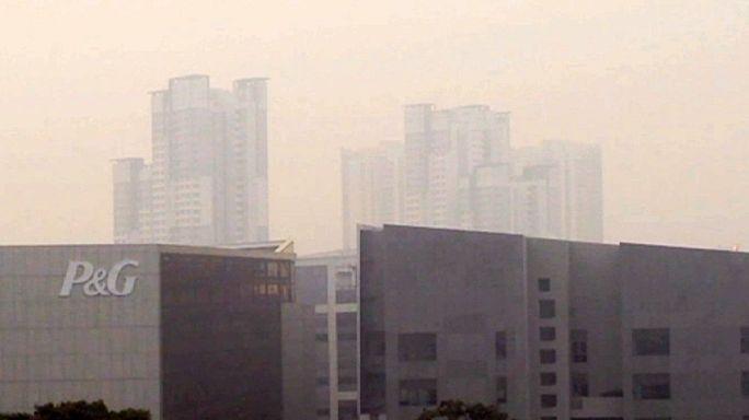 La contaminación en Singapur amenaza la Copa del Mundo de natación