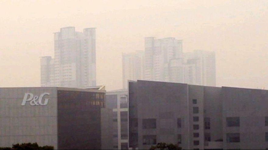 إلغاء نهائيات كأس العالم للسباحة في سنغافورة بسبب التلوث