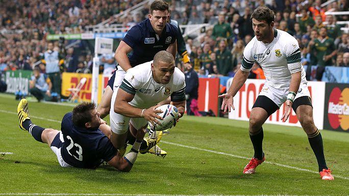Rugby Weltmeisterschaft: Südafrika schlägt Schottland