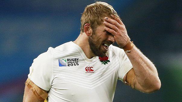 Rugby CdM: clamoroso, Inghilterra fuori dai quarti