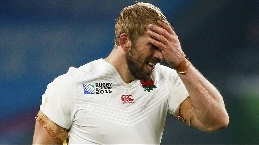 Inglaterra eliminada, nunca se viu nada assim no Campeonato do Mundo de râguebi