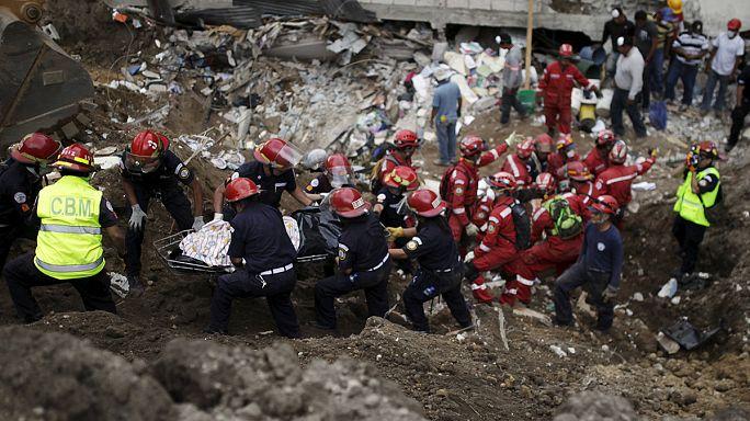 Guatemala'da meydana gelen heyelanda ölenlerin sayısı 79'a yükseldi