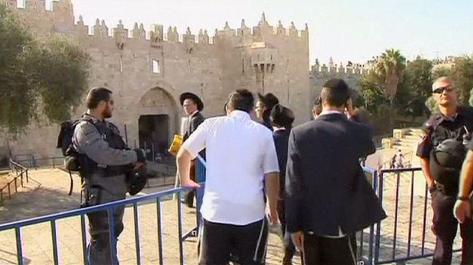 Bıçaklı saldırıların ardından Filistinlilerin Eski Kudüs'e girişi yasaklandı