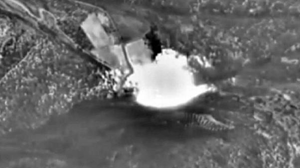 Russian air strike hits terrorist training camp in Syria, say defence officials
