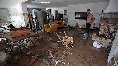 Zahlreiche Tote bei Überschwemmungen in Südfrankreich