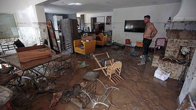 Франция: трагические последствия наводнения на Лазурном берегу
